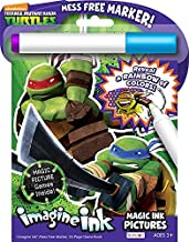 Bendon 17915 Teenage Mutant Ninja Turtles Imagine Ink Magic Ink Pictures