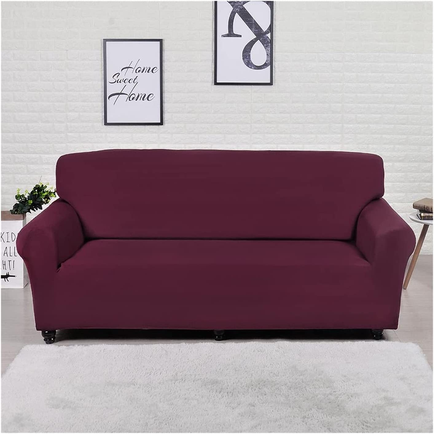 JDKJ NEW before selling Houston Mall ☆ Solid Color Sofa Cover Elasticity Couch Big Stretch