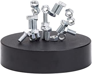 THY COLLECTIBLES Magnetic Sculpture Desk Toy For Intelligence Development Stress Relief Strong Magnet Base Solid Metal Pieces (Nut & Bolt)