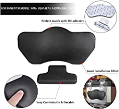 FATExpress Passenger Backrest Pad Rear Top Back Case Box Cushion for BMW G310GS G310R R1250GS R1200GS F750GS F800GS F850GS ADV Adventure