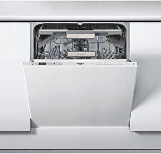 Whirlpool WKCIO 3T123 PEF Totalmente integrado 14cubiertos A++ lavavajilla - Lavavajillas (Totalmente integrado, Plata, Tamaño completo (60 cm), Plata, Botones, 1,3 m)