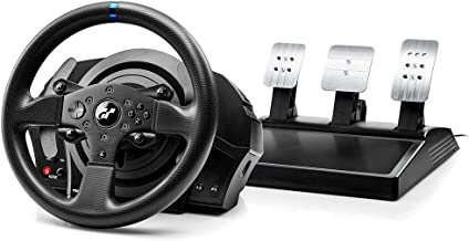 Volante com pedais modelo T300RS GT para PS4 e PS3 Thrustmaster