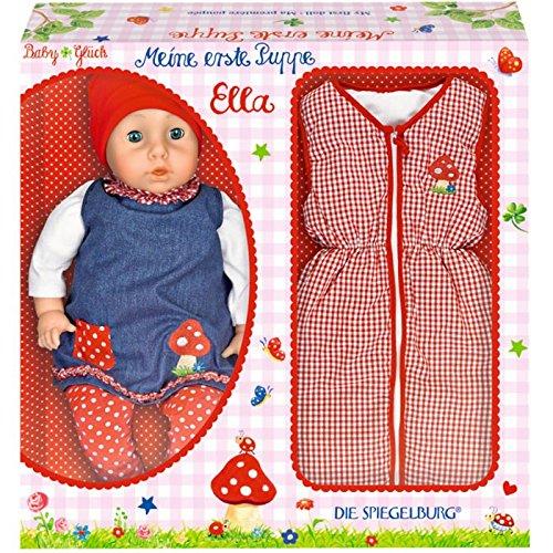 Baby Charms Ella Puppe mit Zubehör, 46cm, Modell # 11475
