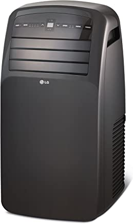LG LP1215GXR 115V Portable Air Conditioner with LCD Remote Control, Black for Rooms up to