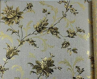 Chinese golden gold foil wall paper tea house hotel room hotel background wallpaper wallpaper,Grey grey