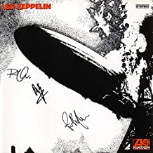Led Zeppelin Signed Autographed Self-Titled Record Album Cover LP Autographed Signed Facsimile