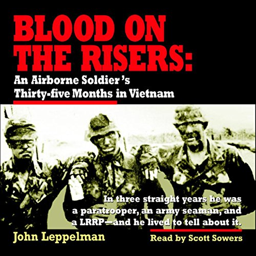 Blood on the Risers audiobook cover art