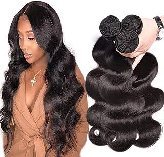 GEM Beauty Hair Body Wave Brazilian Hair Bundles 3pcs lot Unprocessed Virgin Remy Human Hair Body Wave Bundles Deal 1B 16 18 20 inch