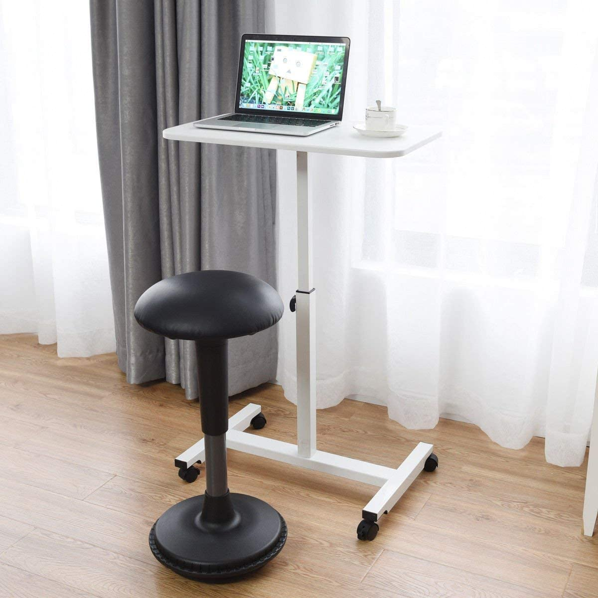Tangkula Laptop Desk Mobile Height Adjustable Brand Cheap Sale Venue San Francisco Mall S Cart
