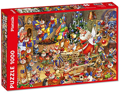 Piatnik - Cuaderno para Colorear de 1000 Piezas (5379)