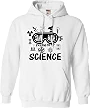 Go All Out Adult Stand Back I'm Going to Try Science Sweatshirt Hoodie