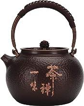 1,2l herbata zen, czysty czajnik miedziany, jedna miedź skóra, aby zrobić butelkę miedzi, niepowlekany garnek, czajnik do ...