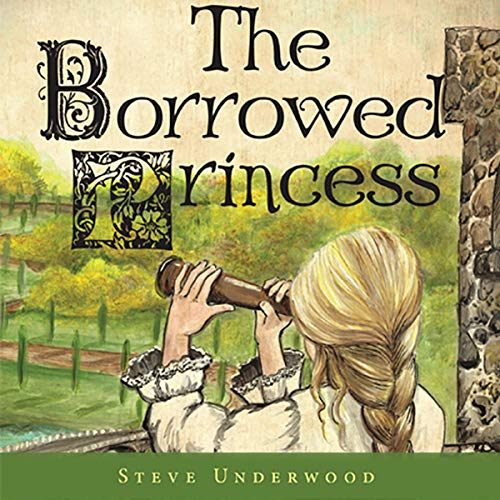 The Borrowed Princess audiobook cover art