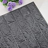 Autocollant DIY 3D Brique PE Mousse Papier Peint Panneaux Chambre Decal Pierre Décoration En Relief Décor À La Maison