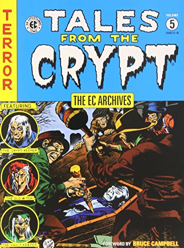 EC Archives, The: Tales from the Crypt Vol. 5 by Jack Davis (13-Nov-2014) Hardcover