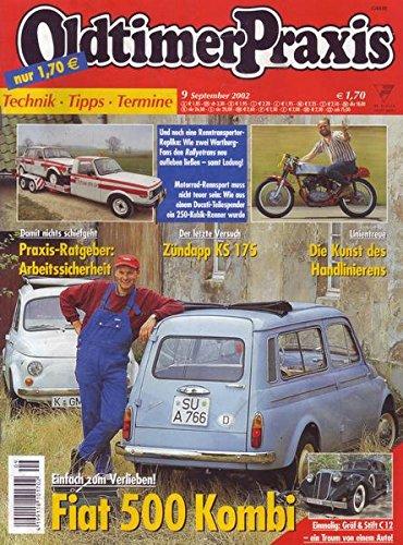 Oldtimer Praxis Nr. 09/2002 Einfach zum Verlieben! Fiat 500 Kombi