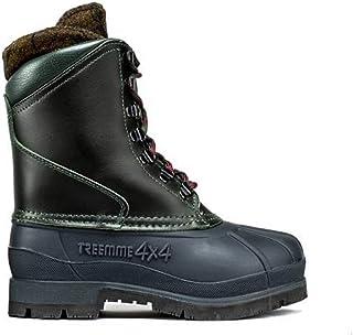 boot bot Stiefel botte TREEMME stivale invernale dopo sci pelle ingrassata suola HIKER gomma chiodabile scarpetta interna ...