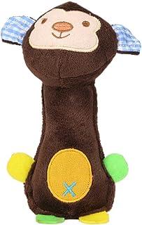 Everpert 犬噛むおもちゃ ペット用玩具 歯ぎ 清潔 発声装置搭載 遊び ぬいぐるみ ストレス解消 運動不足解消 丈夫