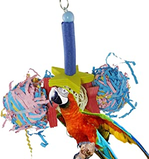 Astrryfarion Juguete Loro Art/ículos para Mascotas Color Aleatorio Parrot P/ájaro Halar Picaduras Subida Masticar Juguete Colorido Colgante Tira Cuerda Jaula para Mascotas Decoraci/ón
