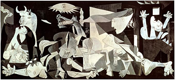 Amazon.com: Guernica by Pablo Picasso Art Print, 43 x 22 inches: Posters &  Prints
