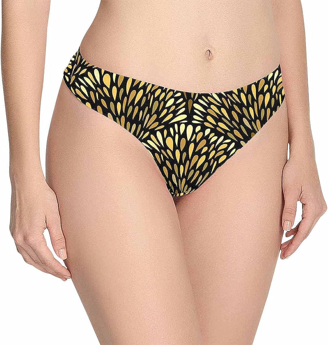 InterestPrint Women's Low Waist Breathable Pantie Deluxe Soft Underwear sold out