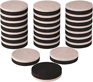 24 Pieces Furniture Sliders 2 Inch Round Felt Furniture Slider Reusable Heavy Duty Furniture Moving Pads for Hardwood Floors and Other Hard Surfaces