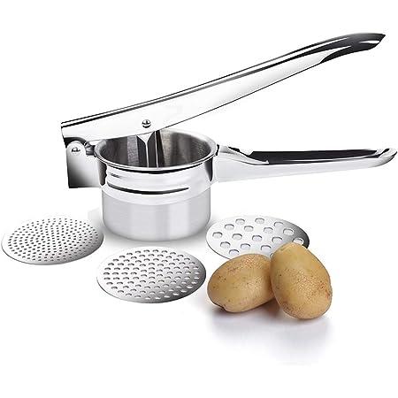 Kitchen Food Potato Ricer Masher Fruit Juicer Press Mash Tool heat resistant