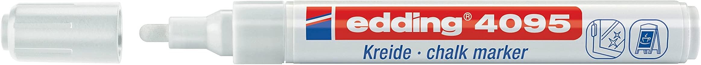 edding 4095 Fenster-/Kreidemarker, 2-3mm, weiß