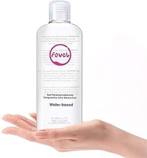 Fovel Lubricante a base de agua Lubricante Dilatador Anales 236ml Gel Sexuales a Base De Agua 100% Natural Sin Fragancia Efecto Larga Duración