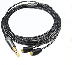 Asobilor Detachable Upgrade Earphone Cable for Shure SE215 SE315 SE425 SE535 SE846 UE900 Earphone for iPhone Andriod