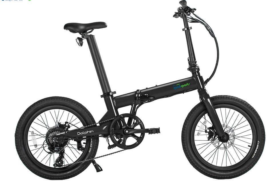 Qualisports specialty shop Electric Bike Finally resale start Dolphin 350W Brushless Rear Motor 14Ah