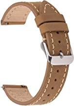 Quick Release Watch Bands EACHE Genuine Leather Watch Replacement Straps for Men & Women 18mm 20mm 22mm