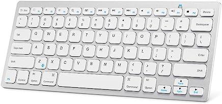 Anker ウルトラスリム Bluetooth ワイヤレスキーボード 【iOS/Android/Mac/Windows対応/長時間稼働】(ホワイト)