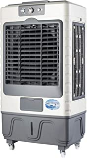 GXFC Portátil Enfriador de Aire por evaporativo con Ruedas, Ventilador, humidificador, climatizador 3 en 1, Tanque de Agua Grande de 45L, Volumen de Aire de 8000m³ / H, Control Remoto o mecánico