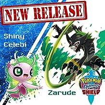Zarude and Shiny Celebi Event for Sword and Shield
