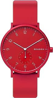 Skagen Aaren Colored Silicone 41mm Watch