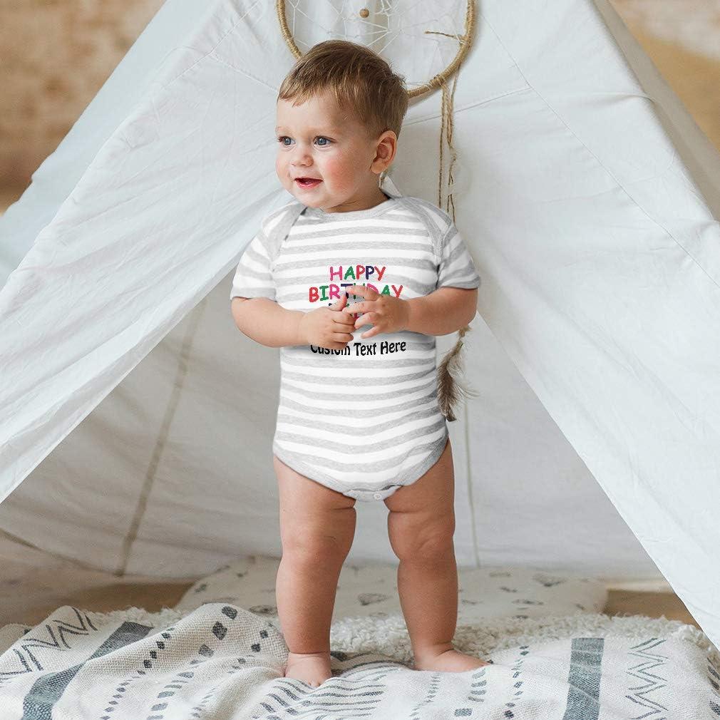 Custom Baby Bodysuit Happy Birthday Daddy Dad Fathers Day Boy /& Girl Clothes