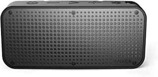 Anker A3181H11 Soundcore Sport Xl Outdoor Portable Rechargeable Bluetooth Wireless Speaker With 16-Watt Output And 2 Subwoofers, Ip67 Waterproof Weatherproof Shockproof, Black