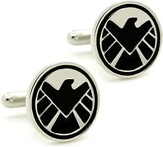 S.H.I.E.L.D. Cufflinks Super Hero Comic Shield Avengers Agents