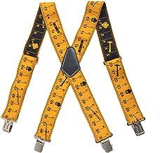 Heavy Duty bretels werk gereedschap riem bretels met sterke clips verstelbare bandjes X vorm comfortabele beugels voor man...