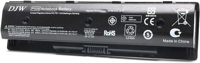 DJW Laptop Battery for HP PI06 PI09 710416-001 710417-001, Envy 15 15T 17 Pavilion 14-E000 15-E000 15t-e000 15z-e000 17-E000 17-E100 17Z-E100-12 Months Warranty