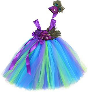 tutu peacock dress
