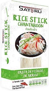 Satoru Rice Stick Chantaboon Fideos de Arroz, 375 g