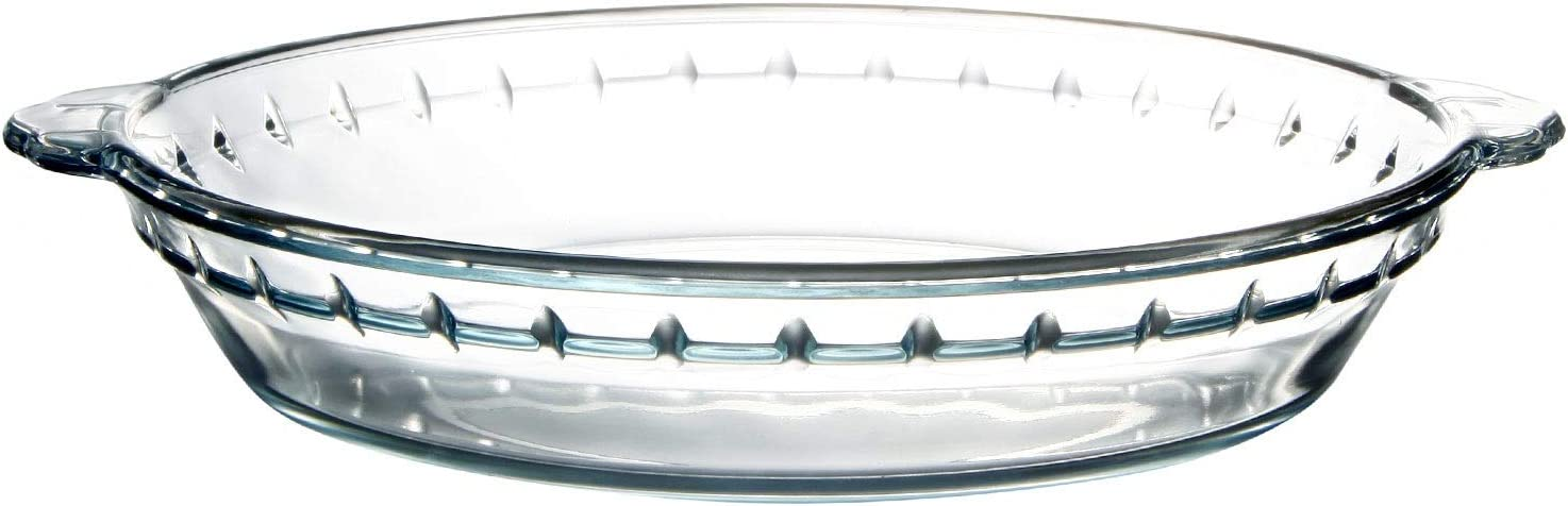 7.5 Cash special price Inch Glass Pie Plate by Financial sales sale Gl NUTRIUPS Pan Baking for