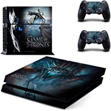Playstation 4 Skin Set - Game of Thrones HD Printing Vinyl Skin Cover Protective for PS4 Console and 2 PS4 Controller by Mr Wonderful Skin