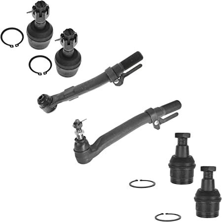 Front Tie Rod End Ball Joint Suspension Kit Set for Dodge Pickup Truck SUV 4WD