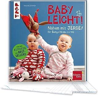 Nähen mit JERSEY - babyleicht!: Nähideen für Babys Größe 44-98. Inkl. Online-Videos