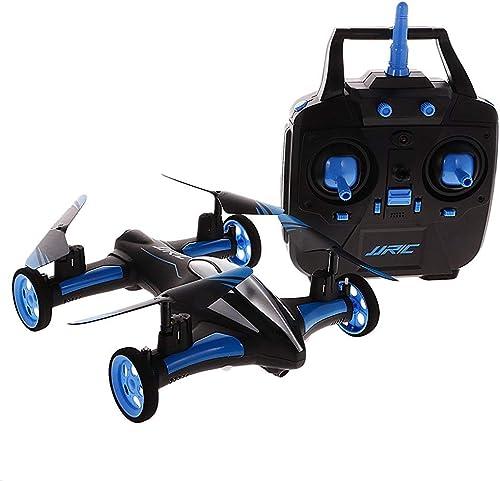 Mini Télécomhommede Drone H23 2.4G 4CH 6-Axe Gyro Air-Sol Volant Voiture RC Drone RTF Quadcopter avec 3D Flip One-Key Retour Mode sans Tête. ZHA-Goo