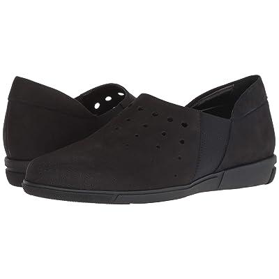 528a2b7ad8009 Sesto Meucci Ditty (Black Soft Nubuck) Women's Shoes