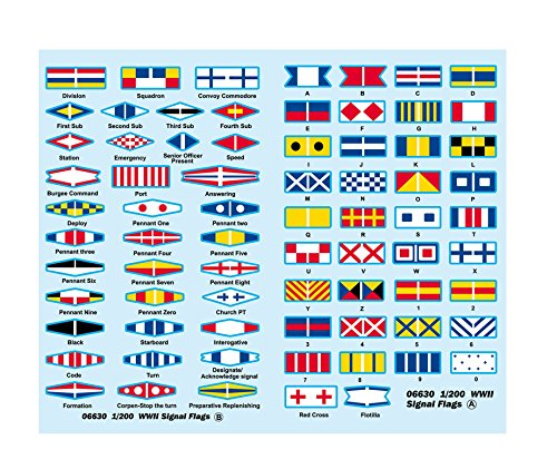 1/200 Ships for Decal / WW2 Signal Flag (Set of 2) (Japan Import)